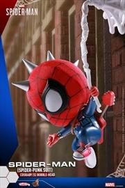 Spider-Man (Video Game 2018) - Spider-Man Spider-Punk Cosbaby
