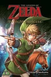Twilight Princess : Legend of Zelda Vol 4   Paperback Book