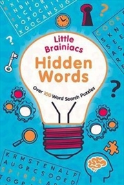 Little Brainiacs Hidden Words Over 100 Word Search Puzzles