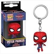 Spider-Man: Into the Spider-Verse - Peter Parker Spider-Man Pocket Pop! Keychain