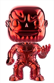 Avengers 3: Infinity War - Thanos Red Chrome US Exclusive Pop! Vinyl [RS]