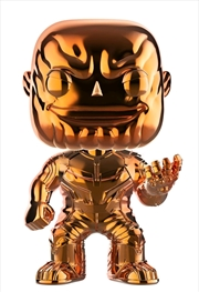 Avengers 3: Infinity War - Thanos Orange Chrome US Exclusive Pop! Vinyl [RS]