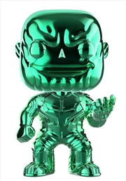 Avengers 3: Infinity War - Thanos Green Chrome US Exclusive Pop! Vinyl [RS]