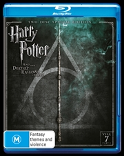 Harry Potter And The Deathly Hallows - Part 2 - Limited Edition - Year 7 | Blu-ray