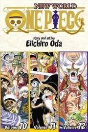 One Piece: Vol 24: Vols 70-72 | Paperback Book