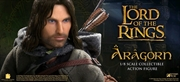 "The Lord of the Rings - Aragorn Deluxe 12"" 1:6 Scale Action Figure 