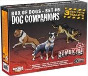 Zombicide Companion Dogs Box Set 6 | Merchandise