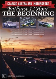Classic Australian Motorsport - 1992/3/4 Bathurst 12 Hour - The Beginning - Vol 4 | DVD