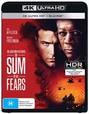 Sum Of All Fears | Blu-ray + UHD, The