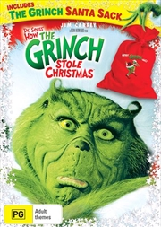 How The Grinch Stole Christmas - Includes Grinch Santa Sack