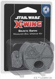 Star Wars X-Wing Miniatures Game Galactic Empire Maneuver Dial Upgrade Kit 2nd Edition | Merchandise