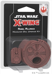 Star Wars X-Wing Miniatures Game Rebel Alliance Maneuver Dial Upgrade Kit 2nd Edition | Merchandise