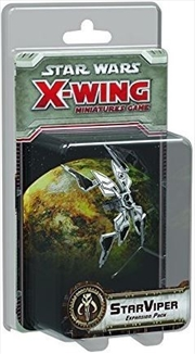 Star Wars X-Wing Miniatures Game: Star Viper Expansion Pack | Merchandise