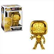Marvel Studios 10th Anniversary - Iron Spider Gold Chrome Pop! Vinyl