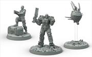 Fallout Wasteland Warfare Brotherhood of Steel Knight-Captain Cade, Paladin Danse
