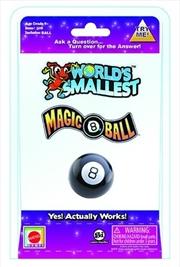 World's Smallest - Magic 8 Ball