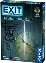 Exit the Game the Abandoned Cabin | Merchandise
