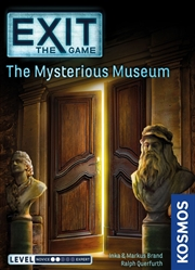 Exit the Game the Mysterious Museum | Merchandise