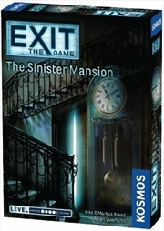 Exit the Game the Sinister Mansion | Merchandise