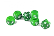 John Carter of Mars RPG - Thark Dice Set (Set of 6 Custom Dice)