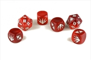 John Carter of Mars RPG - Zodanga Dice Set (Set of 6 Custom Dice)