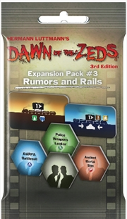 Dawn of the Zeds (3rd Edition) - Rumors and Rails Expansion