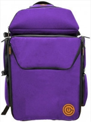 Ultimate Boardgame Backpack - Purple/Gold