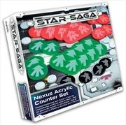 Star Saga - Nexus Acrylic Counter Set