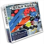 Star Saga - Player Acrylic Counter Set