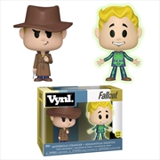 Fallout - Mysterious Stranger & Adamantium Vynl.
