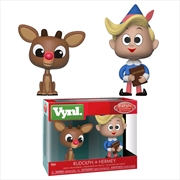 Rudolph - Rudolph & Hermey Vynl. | Merchandise