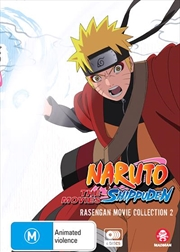 Naruto Shippuden - Rasengan Movie Box - Collection 2 | DVD