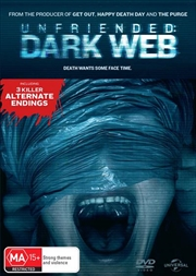 Unfriended - Dark Web | DVD