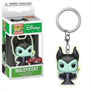 Sleeping Beauty - Maleficent Glow US Exclusive Pocket Pop! Keychain [RS] | Pop Vinyl