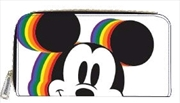 Mickey Mouse - Mickey Rainbow Zip-Around Wallet