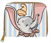 Dumbo - Dumbo with Stripes Zip-Around Wallet