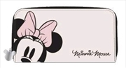 Mickey Mouse - Minnie Head Zip-Around Wallet