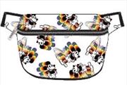 Mickey Rainbow Print Bum Bag | Apparel