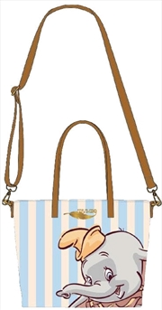 Dumbo - Dumbo with Stripes Tote Bag