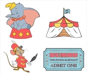 Dumbo - Enamel Pin 4-pack