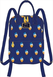 Mickey Mouse - Donald Head Print Mini Backpack