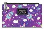 Hello Kitty - Space Flap Wallet