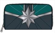 Captain Marvel - Star Emblem Zip-Around Wallet | Apparel
