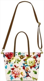 Captain Marvel - Floral Tote Bag