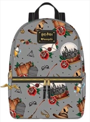 Harry Potter - Props Print Backpack