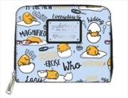 Gudetama - Gudetama Print Mini Wallet