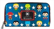 Justice League - Chibi Zip-Around Wallet