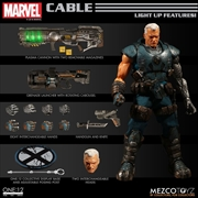 X-Men - Cable One:12 Collective Action Figure (Light Up Features)