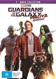 Guardians Of The Galaxy / Guardians Of The Galaxy 2 | DVD
