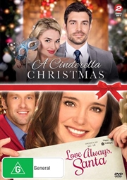 A Cinderella Christmas / Love Always, Santa | DVD